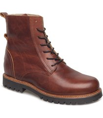 polar boot snörade stövlar brun shoe the bear