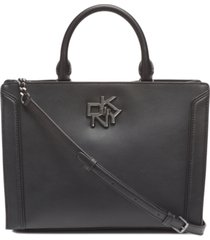 dkny catherine leather satchel