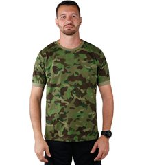 camiseta treme terra soldier tropic verde - verde - masculino - algodã£o - dafiti
