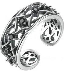 anillo ajustable casual plata arany joyas