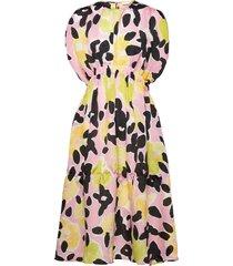 jordan, 1142 floral textured poly dresses everyday dresses rosa stine goya