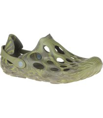 merrell hydro moc waterproof slip-on, size 15 in olive drab at nordstrom