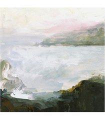 "victoria borges misty cape ii canvas art - 36.5"" x 48"""