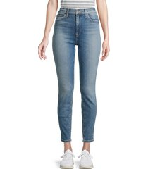 hudson women's ankle-cropped super skinny jeans - perogative - size 31 (10)