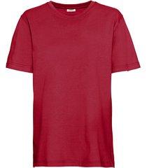 ecologisch t-shirt voor hem & haar, rood m