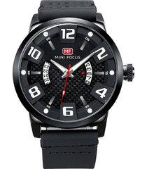 reloj análogo f0149g-1 hombre negro