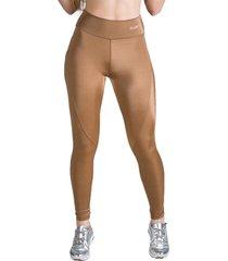 calça legging feminina surty wish bronze
