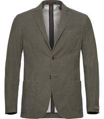 portofino washed cotton jacket blazer kavaj grön morris