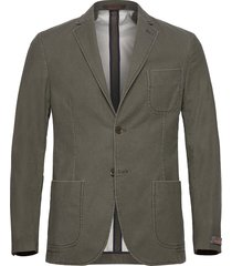 portofino washed cotton jacket blazer kavaj grön morris
