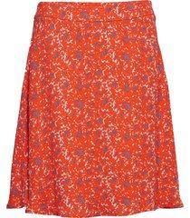 2nd anastasia camo knälång kjol orange 2ndday