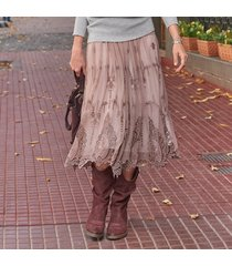 alcott lace skirt