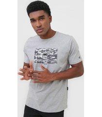 camiseta wg camo flãºor cinza - cinza - masculino - dafiti