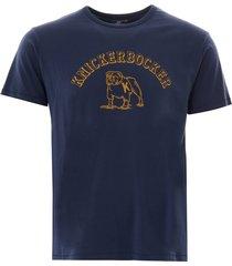 knickerbocker varsity t-shirt   dusty blue   k20-003 blu