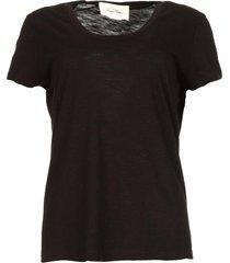 basic t-shirt met ronde hals jacksonville  zwart