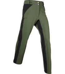pantaloni elasticizzati in softshell (verde) - bpc bonprix collection