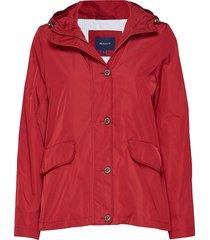 d1. short memory jacket sommarjacka tunn jacka röd gant