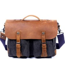 tsd brand women's hudson canvas messenger bag