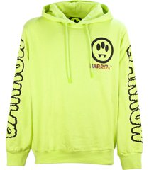 barrow yellow cotton hoodie