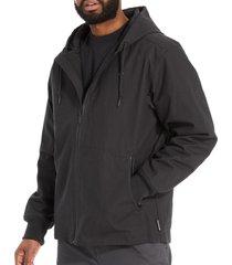 wolverine men's fortifier jacket black, size s