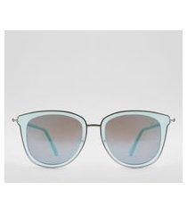 óculos de sol gatinho feminino yessica azul