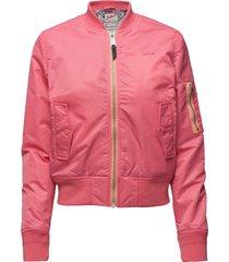 bomber jacket bomberjacka rosa schott