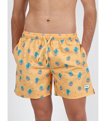 zwembroek admas for men cactus mr wonderful oranje admas zwemshort