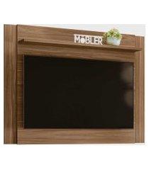 painel nobre p/ tv até 55 polegadas carvalho nobre belaflex móveis