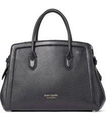 kate spade new york kott medium leather satchel
