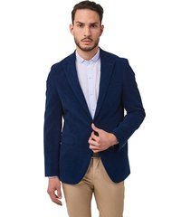 blazer de pana long slim fit 98106