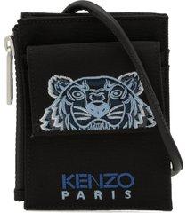 kenzo kampus tiger canvas card holder