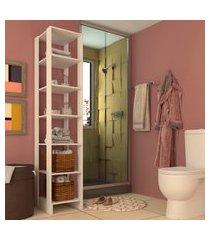estante closet 40cm nova mobile yes 6 prateleiras