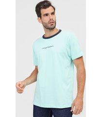 camiseta yachtsman lettering azul