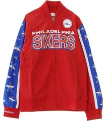 nba hook shoot warm up jacket phi76e