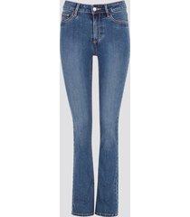 jegging jane slit jeans - blå