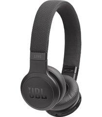 audifonos inalambricos jbl live 400bt con control de voz new negro
