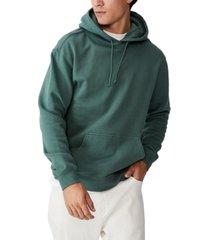 men's essential fleece pullover sweatshirt