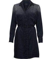 dress knälång klänning blå marc o'polo