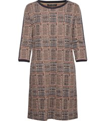 dress short 3/4 sleeve dresses knitted dresses brun betty barclay