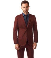 blazer suit ruan rojo new man