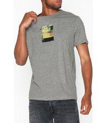 jack & jones jorlance tee ss crew neck t-shirts & linnen ljus grå