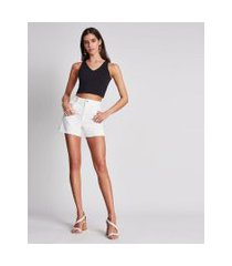 lez a lez - shorts jeans sunset i am soft branco off white