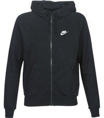 sweater nike w nsw essntl hoodie fz flc