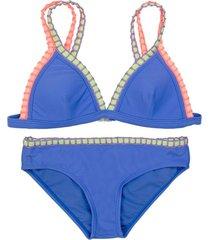 bikini triángulo morado h2o wear