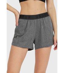 short under armour play up twist shorts 3.0 gris - calce regular
