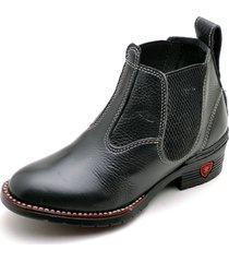 bota clube do sapato de franca premium preto