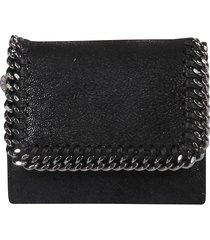 stella mccartney falabella french wallet