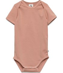 cozy me s/s body bodies short-sleeved rosa müsli by green cotton
