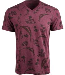 american rag men's dry botanical graphic v-neck t-shirt, created for macy's