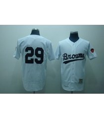 number 29 satchel paige jerseys cleveland browns white t shirts