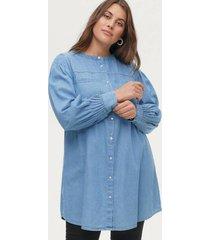 tunika xcury l/s denim long shirt